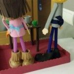 pareja de muñecas